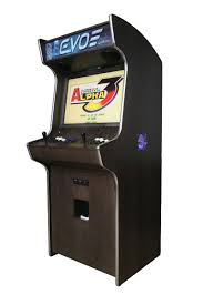 evo play arcade machine liberty games