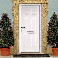 Pvc Exterior Doors Exterior Lynne Solid Upvc Door External White Pvc Doors