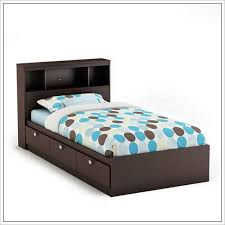 Twin Headboard Plans by Twin Bed Frame With Drawers And Headboard 288