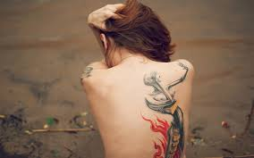 tattoo girl in the back 25 back tattoo ideas for women that are simply wow trend to wear