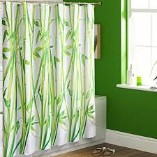Cheap Modern Shower Curtains Green Sprigs Fabric Shower Curtain Modern Shower Curtains Fabric