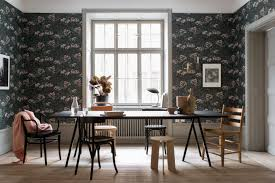 Wallpaper Designs For Dining Room Sandberg Wallpaper Transforms Your Home Into An Oasis Nordic