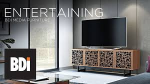 Furniture For Lcd Tv Bdi Media Furniture Features Innovative Designs For Modern Living