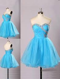 light blue homecoming dress sweetheart prom gown tulle homecoming