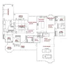 open floor plans with large kitchens house plan uncategorized house plans with large kitchens and