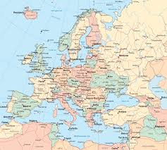 Map Of Europe With Major Cities by Blagojevich Europe Travel Map