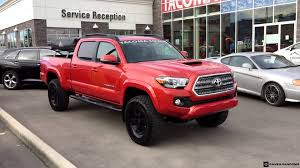 Trd Canada Lifted 2016 Toyota Tacoma Double Cab Trd Sport 4x4 Youtube