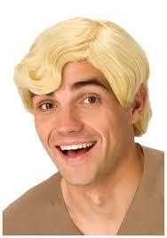 wig halloween deluxe barney rubble wig halloween costumes