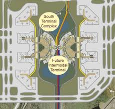 mco terminal map orlando airport expansion plans reveal 100 gate south