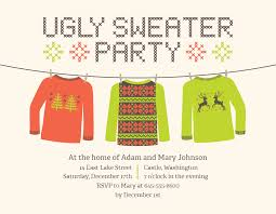 ugly sweater party invitations mickey mouse invitations templates