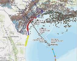 Hurricane Map Gas Prices Rise As Hurricane Harvey Catches Oil Companies By