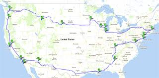 delaware road map usa one figured out how to plan the best road trip huffpost