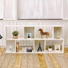 Modern White Bookcases White Modern 2 Shelf Bookcase Formaldehyde Free Way Basics