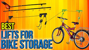 Racor Pbh 1r Ceiling Mounted Bike Lift by 6 Best Lifts For Bike Storage 2017 Youtube