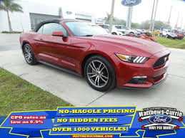 pre owned ford mustang used 2017 ford mustang for sale nokomis fl