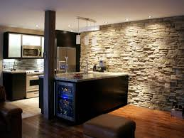 Cool Finished Basements Adding A Basement Kitchen Hgtv