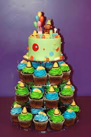 curious george cakes tara s cupcakes curious george cake cupcake tower 2