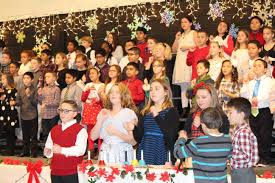 kennedy elementary students perform holiday tunes in annual winter