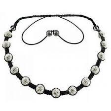 shamballa bracelet jewelry images Crystal ion shamballa necklace 13 beads ion shamballa JPG