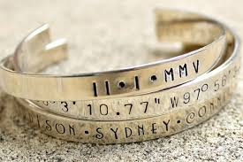 sterling silver personalized jewelry sterling silver personalized bracelet engraved bracelet