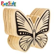 Hobby Lobby Kids Crafts - wood butterflies classroom supplies butterfly and woods
