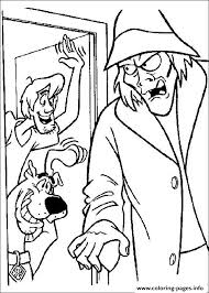 shaggy zombie scooby doo 96c1 coloring pages printable