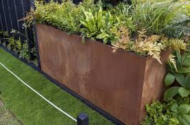 download corten steel planters solidaria garden
