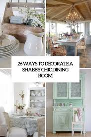 Chic Dining Rooms Shabby Chic Dining Room Ideas