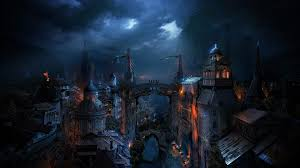 fantasy art cityscape wallpapers hd desktop and mobile backgrounds