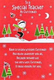 6 best images of printable christmas cards for teachers teacher