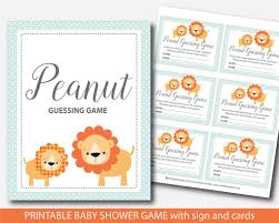 lion candy guessing game lion m u0026m game lion baby shower peanut