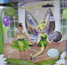 tinkerbell ribbon fairies tinker bell airwalkers balloon 66 inch from category awk