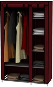 Wardrobe With Shelves by Amazon Com 42