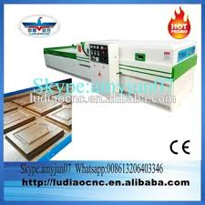 pvc foil membrane press machine for kitchen cabinet door in jinan