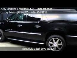 cadillac escalade esv 2007 for sale 2007 cadillac escalade esv esv awd for sale in az