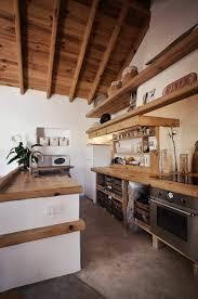 cuisine bois design déco pierre et bois en un choix d u0027images magnifiques