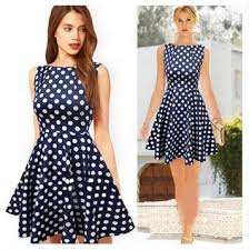 summer sale women latest dress designs vintage elegant navy