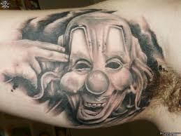 clown tattoo photo num 11402