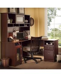 Bush L Shaped Desk With Hutch Sweet Deal On Bush Furniture Cabot 60 In L Shaped Desk With Hutch