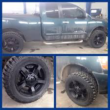 nissan titan leveling kit a nissan titan with rockstar rims and a 3