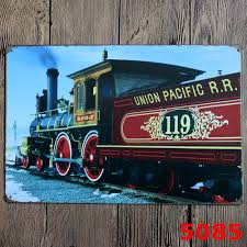 online get cheap train metal signs aliexpress com alibaba group