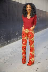 dolman sleeve sweater african print trousers style pantry
