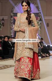 bridal wear faraz manan bridal wear bridal sharara bridal couture week