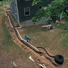 How To Dry Flooded Basement by How To Extend A Downspout Wet Basement Basements And Lawn