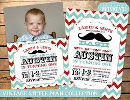 mustache party birthday party invitation mustache