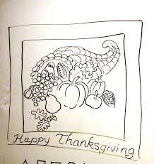 children draw thanksgiving americans winter for november