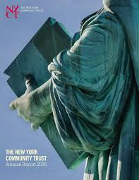 2016 annual report the new york community trust by the new york