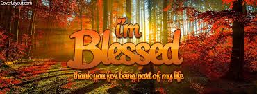 i m blessed thanks for being part of my cover i m