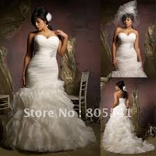 plus size wedding dress designers mole 3116 free shipping designer mermaid sweetheart beading satin