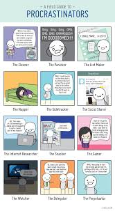 Foto Meme Comic - a field guide to procrastination meme comic by 20px